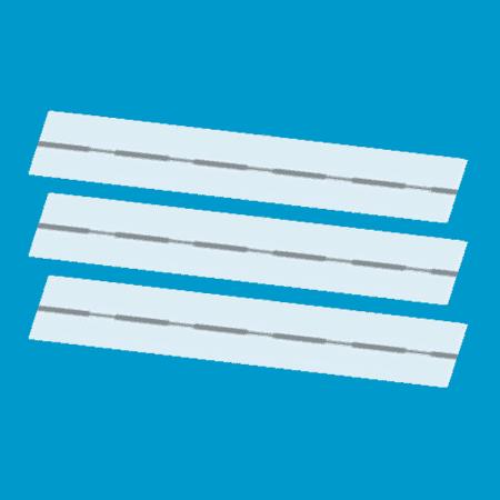 Artikelbeveiliging - winkelbeveiliging - productbeveiliging - beveiligingslabels - beveiligingsetiketten - beveiligingsstickers - cosmetica - make-up - parfums - beveiligen - strips - stripjes - 10x51