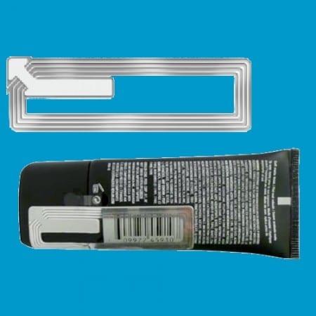 Artikelbeveiliging - winkelbeveiliging - productbeveiliging - beveiligingslabel - beveiligingsetiket - beveiligingssticker - cosmetica - make-up, transparant, parfum, parfumerie, drogist, drogisterij, 1965-C