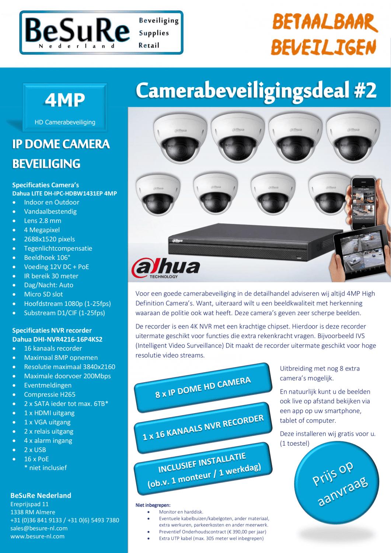 Camerabeveiliging - Camerabewaking - winkelbeveiliging - productbeveiliging - camera - veiligheid - security - cctv