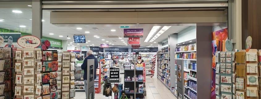 Artikelbeveiliging - productbeveiliging - winkelbeveiliging - detectiepoortjes - elektro magnetisch - EM - TAGIT - Premium Light - DA Rijkes - De Rijp - transparant - METO - drogist - drogisterij - cosmetica