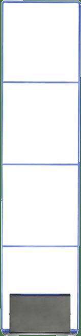Irididum - sirius - detectiepoortjes - beveiligingspoortjes - artikelbeveiliging - eas - productbeveiliging - winkelbeveiliging - plexi - led - transparant - plexi - plexiglas - plexiglass - blauw - rood - groen - rgb - rf - radio frequent