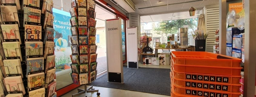 Artikelbeveiliging - detectiepoortjes - RF - Radio Frequent - BeSuRe Nederland - Classico - media panel - advertising panel - winkeldiefstal - winkeldief - winkel - blokker - huishoudelijk - beveiligingslabels