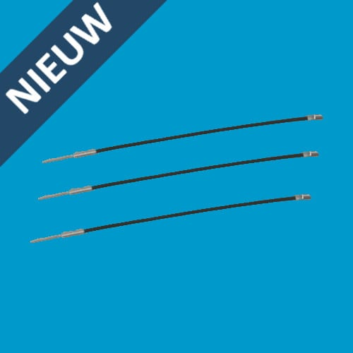 steelflex - staal - kabel - hard tag - artikelbeveiliging - winkeldiefstal - winkel