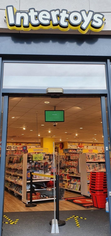 Intertoys Arena Den Bosch - FootfallCam - Occupancy Control - klantenteller - bezoekersteller - bezoekersdosering