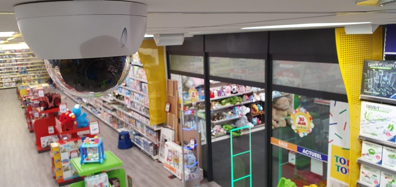 Showroom Otto Simon Top 1 Toys Almelo - Camerabeveiliging