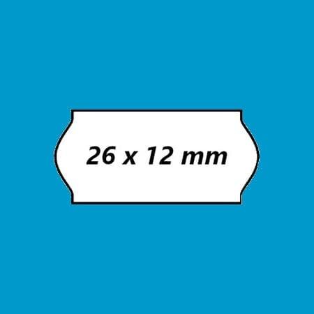 Prijsetiketten 26 x 12 mm