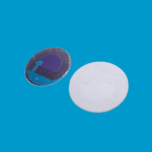 RF beveiligingsetiket beveiligingslabel RF rond wit