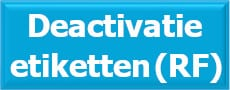 Deactivatie, deactivator, beveiligingsetiketten, beveiligingslabels, RF